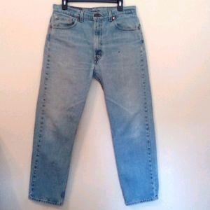 Levi's 505 Straight Leg Jeans Vintage